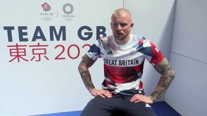 Olympics Games (Tokyo 2020) - British competitive swimmer Adam Peaty reacts to Tokyo's Team GB quarantine
