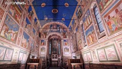 Padova freskói is a világörökség részei