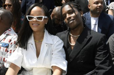 Rihanna and A$AP Rocky Twinned in Trucker Hats and Camo During Their Latest Date Night