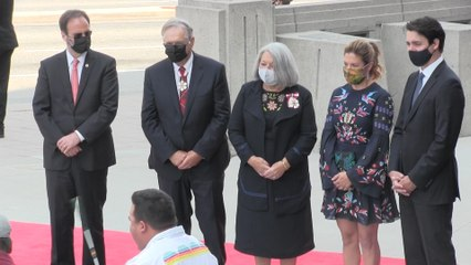 Mary Simon installed as first Indigenous Governor General