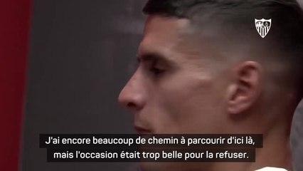 """Séville - Lamela : """"Je voulais jouer en Liga avant la fin de ma carrière"""""""