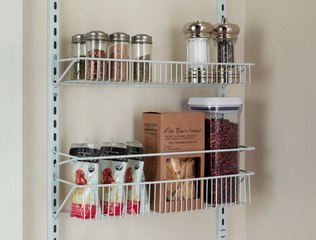 Installing These Over-the-Door Racks In My Pantry Has Made Cooking So Much More Enjoyable
