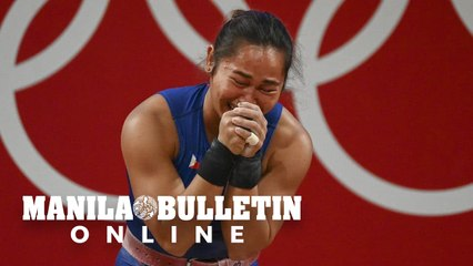 Weightlifter Hidilyn Diaz wins first ever Olympic gold for Philippines