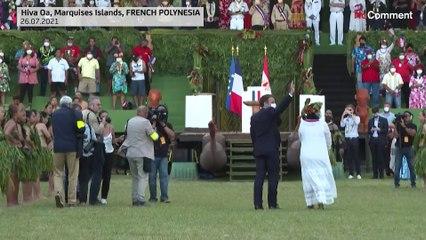 Folytatta polinéziai útját Emmanuel Macron