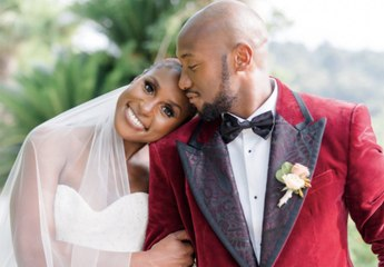 Issa Rae's Wedding Day Ponytail Almost Goes Down to Her Butt