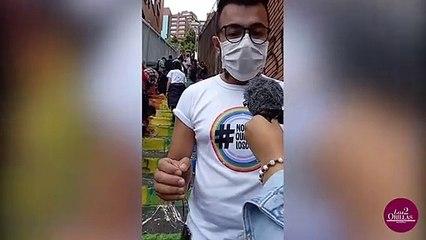 """""""La violencia contra la comunidad LGBTIQ+ existe y la ratificamos"""" Luis Carlos Leal."""