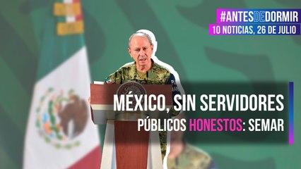 México, sin servidores públicos honestos: Semar