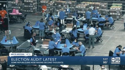 Some Republican state senators having second thoughts on election audit