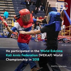 This Arnis World Champion Is Promoting Filipino Martial Arts On TikTok