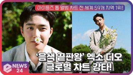 '음색 끝판왕' 엑소(EXO) 디오(D.O.), 첫 솔로 앨범 '공감' 글로벌 차트 강타!