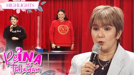 Amy shares a story about Aga and Janice | It's Showtime Reina Ng Tahanan