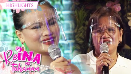 ReiNanay Catrina gets emotional at her mother's question | It's Showtime Reina Ng Tahanan