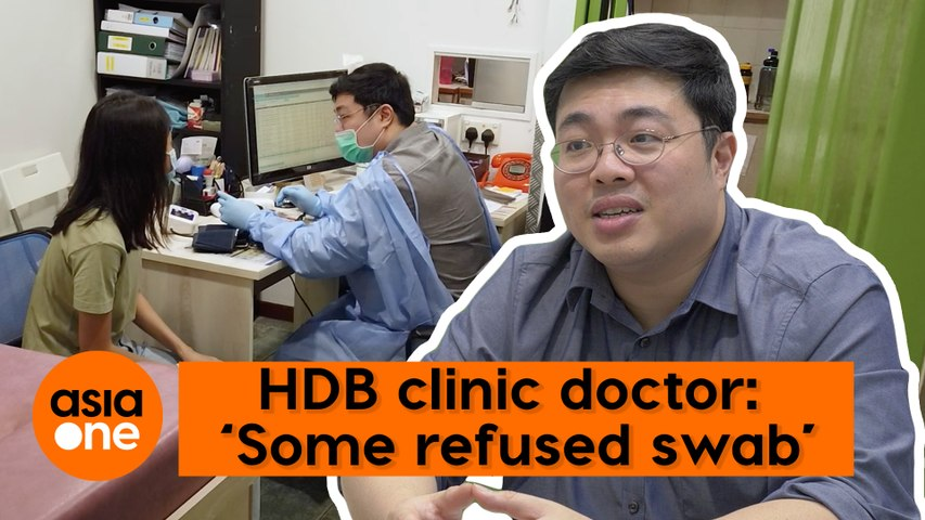 Stories Behind The Mask: HDB clinic doctor on difficult patients faced during the pandemic