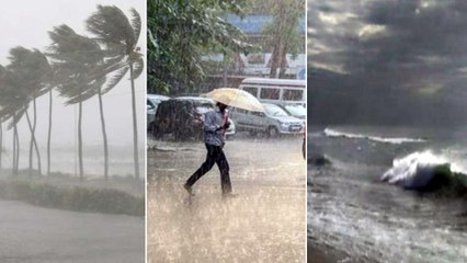 Weather Update : Heavy Rain For Another Two Days In AP,  Winds At 40-50 kmph | Oneindia Telugu