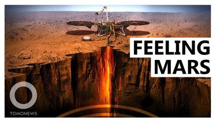 地震儀回傳資料 幫助科學家繪製火星內部圖像