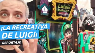 Luigi's Mansion Arcade, ¡una recreativa para cazar fantasmas!