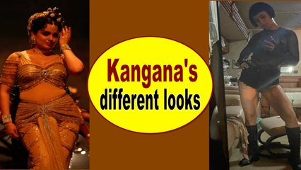 Kangana Ranaut gives glimpse of her different looks from 'Thalaivi' and 'Dhakaad'