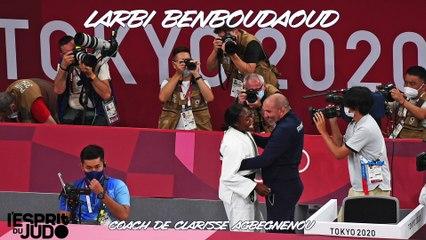 Jeux olympiques Tokyo 2021 – Larbi Benboudaoud : « Clarisse avait l'ascendant psychologique »
