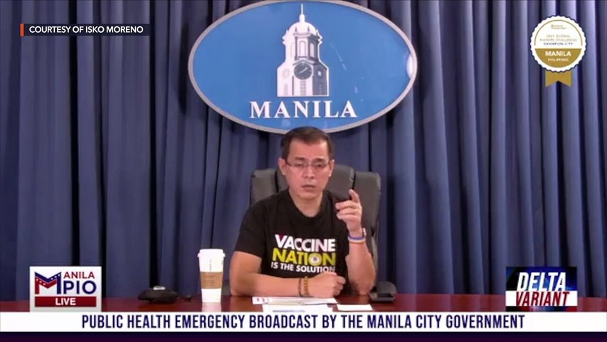 Isko Moreno defies Duterte: Jabs in Manila continue 'come hell or high water'