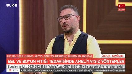 Önce Sağlık – Fatih Kırar | Ertan Cevizci | 27 Temmuz 2021