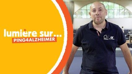 À Levallois, on lutte contre la maladie d'Alzheimer grâce au ping-pong