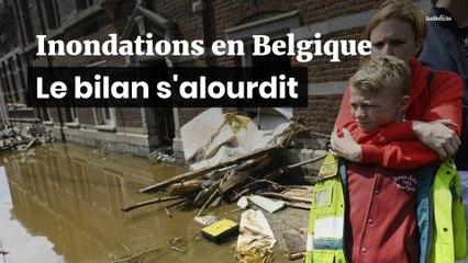Inondations en Belgique : le bilan s'alourdit