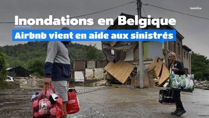 Inondations : Airbnb au secours des sinistrés