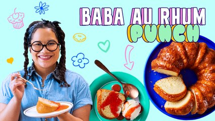 Rum Punch Soaked Baba Cake | Baba Au Rhum Punch | Pastries with Paola
