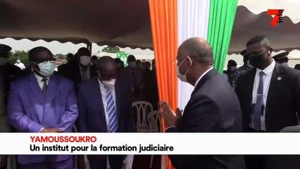 Yamoussoukro - un institut pour la formation judiciaire