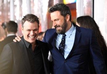 "Matt Damon is ""So Happy"" For Ben Affleck and Jennifer Lopez"