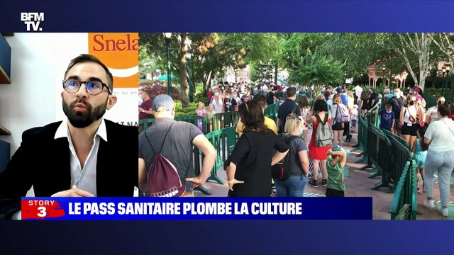 Story 8 : Le pass sanitaire plombe la culture - 27/07