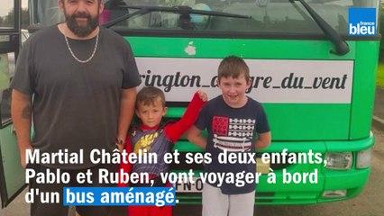 Une famille du Nord-Mayenne va traverser l'Europe en bus aménagé