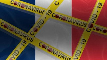Covid-19 : France : toutes les régions dépassent le taux d'incidence d'alerte
