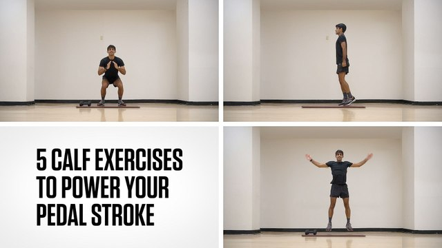 5 Calf Exercises to Power Your Pedal Stroke