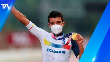 Richard Carapaz subió al cuarto lugar del Ranking Mundial de Ciclismo