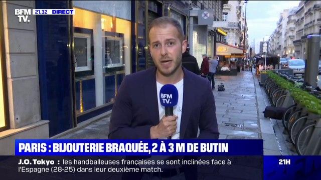 Paris: une bijouterie braquée par un homme, le butin estimé entre deux et trois millions d'euros