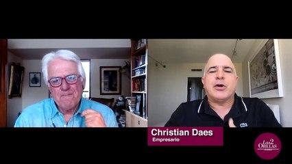"""""""Yo peleo por la vacuna, por la bonificación, por el aumento salarial"""", Christian Daes."""