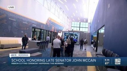 School honoring late Senator John McCain