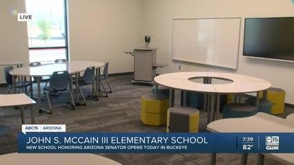 School named after John McCain opens in Buckeye