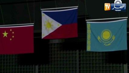 عزف نشيد الفليبين لأول مرة في تاريخ الأولمبياد بعد فوز الرباعة هيدلين دياز بالذهب
