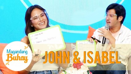 John and Isabel answer questions about their marriage | Magandang Buhay