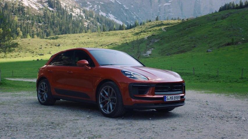 The new Porsche Macan S Exterior Design
