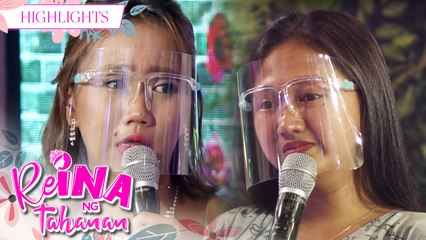 ReiNanay Toyang finds out that her younger sister is jealous of her | It's Showtime Reina Ng Tahanan