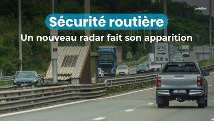 Sécurité routière : le radar tourelle fait son apparition en Belgique