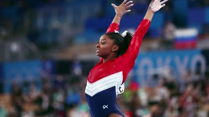 IOC Spokesperson, Mark Adams, says the organisation has 'huge respect and support' for Simone Biles