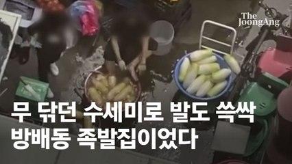 """""""무김치 너무 맛있어요"""" 별점 4.9개…방배동 족발집의 배신"""
