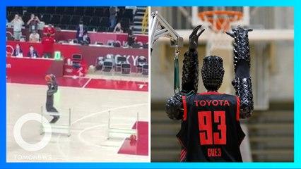 Toyota CUE投籃機器人 奧運三分球命中率近百