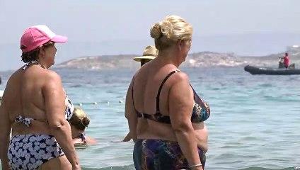 Estela Grande presume de cuerpo en Ibiza tras presentar a su nuevo novio