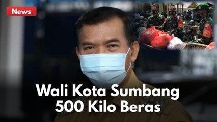 INGIN RINGKAN BEBAN WARGA !! FIRDAUS WALI KOTA PEKANBARU SUMBANG 500 KILO BERAS !!!