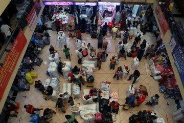 Masuk Pasar Wajib Tunjukan Surat Vaksin
